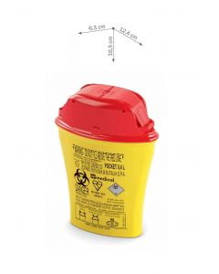 Sharps Containers - Pocket Line - 0.4L
