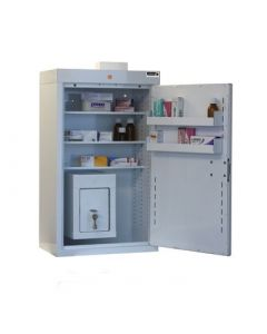 MC6 Medicine Outer Cabinet Combined with CDC21 Controlled Drugs Inner Cabinet