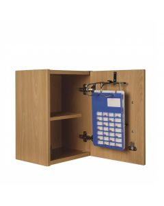 Self Administration Wall Cabinet - Beech Effect
