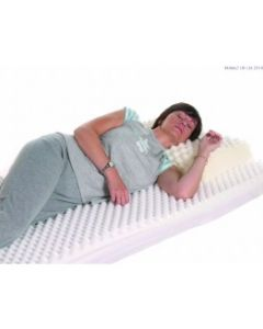 Harley Ripple Mattress Topper - Single (Foam only, no cover)