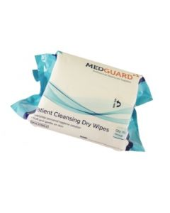 CASE Patient Cleansing Dry Wipes XL (18 x 100)