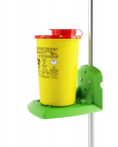 Resin Trilley Bracket Support  for Sharps PBS 1.5, 2 L