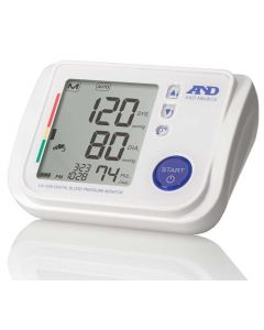 AND UA-1020 Advanced Automatic Blood Pressure Monitor and Accessories